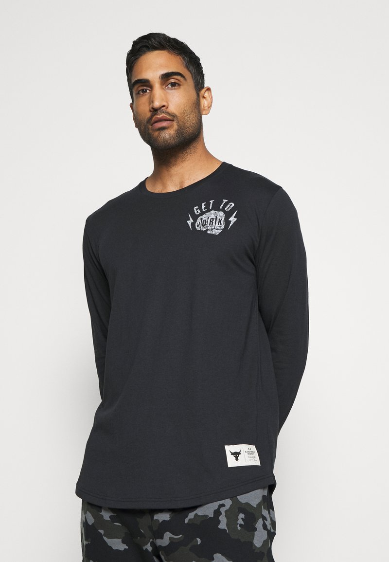 Under Armour - ROCK GET TO WORK  - Long sleeved top - black