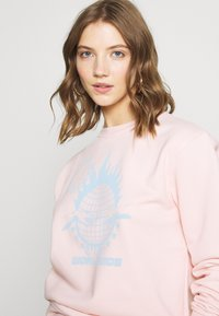 NEW girl ORDER - WORLDWIDE SWEAT CO-ORD - Bluza - pink - 3