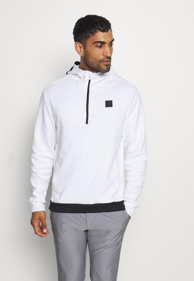 ADICROSS HOODIE - Bluza z kapturem - white