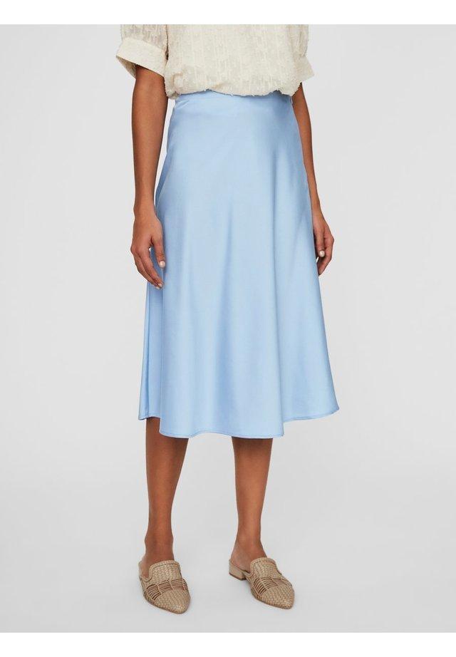 A-line skirt - placid blue