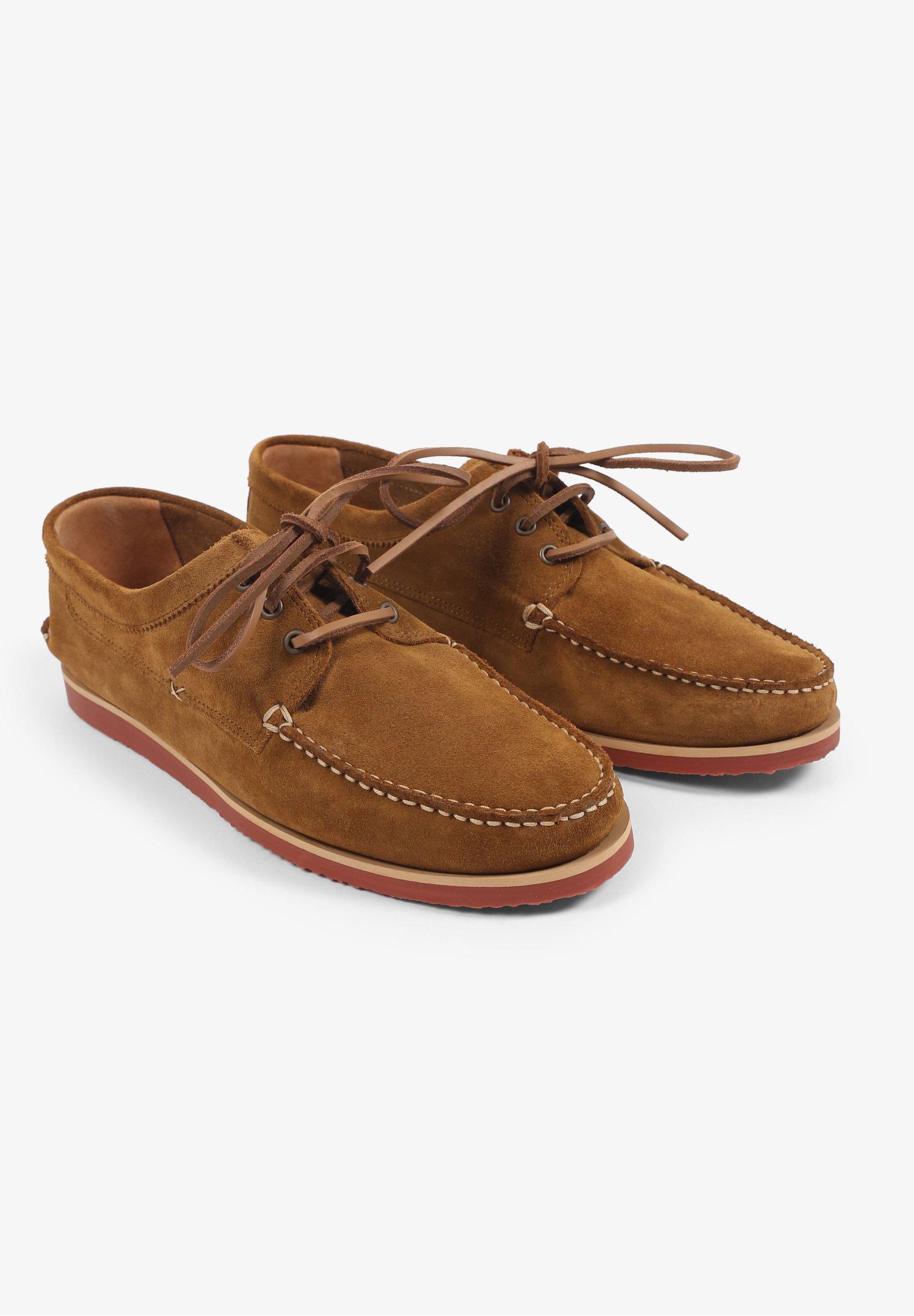 Scalpers Mockasiner - brown/brun - Herrskor ruqol