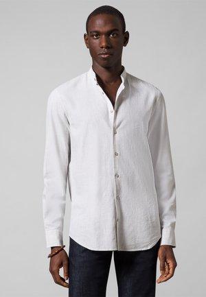 Overhemd - offwhite melange