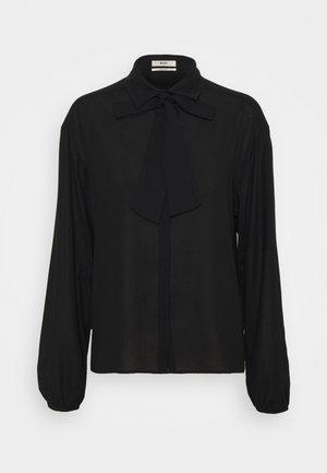 RUFFLE BLOUSE - Overhemdblouse - black