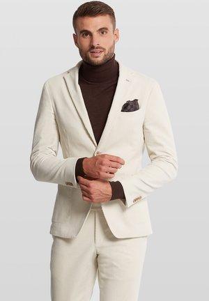 ELRAY SOFT - Suit jacket - wool white
