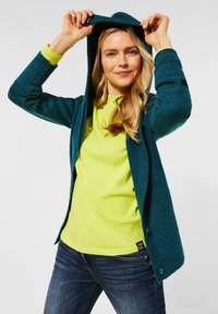 Cecil - FLEX  - Cardigan - atlantic green melange - 0