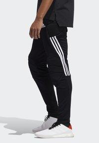 adidas Performance - TIERRO GOALKEEPER TRACKSUIT BOTTOMS - Verryttelyhousut - black - 3