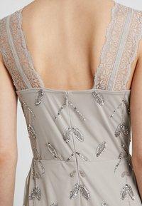 Maya Deluxe - STRAP DRESS WITH EMBELLISHMENT - Společenské šaty - grey - 5