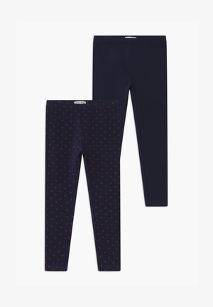 SMALL GIRLS 2 PACK - Leggings - Trousers - navy blazer