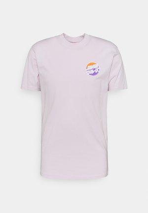 EXCLUSIVE MIXED UP DOT UNISEX - T-shirt imprimé - lavender