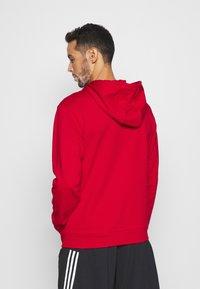 Calvin Klein Performance - HOODIE - Sweatshirt - red - 2