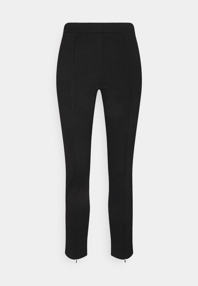 OBJPILARI PANTS FAIR - Trousers - black