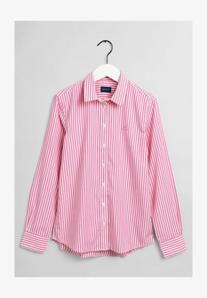 Button-down blouse - chateau rose