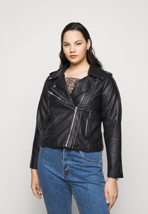 MEGAN JACKET - Giacca in similpelle - black