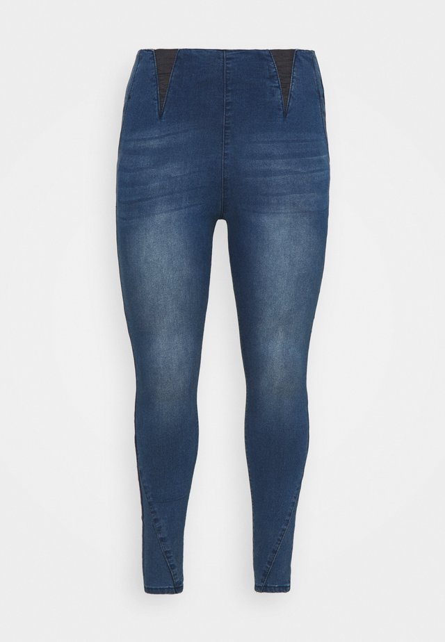 Jeggings - mid blue