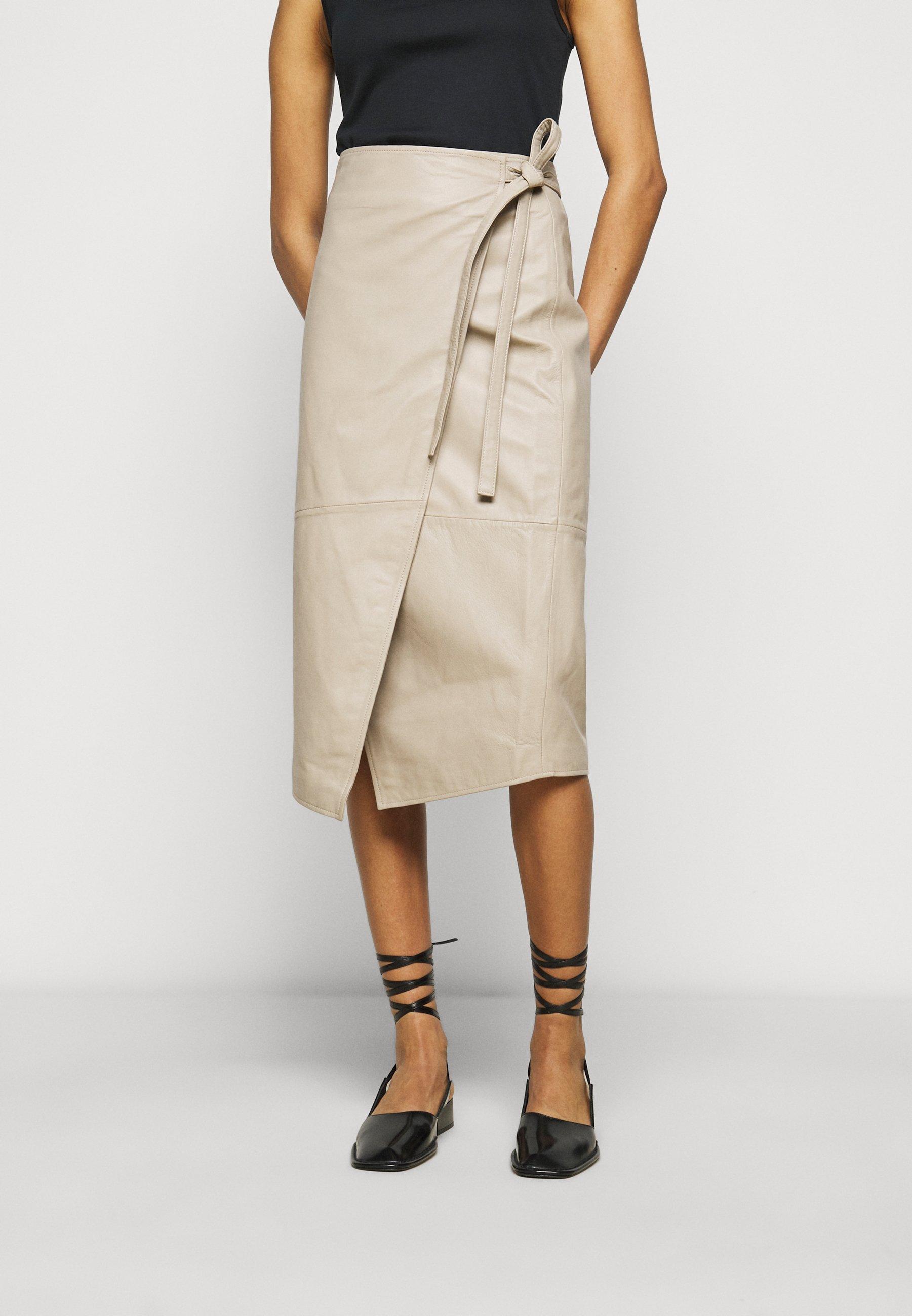 Femme MURPHY - Jupe en cuir