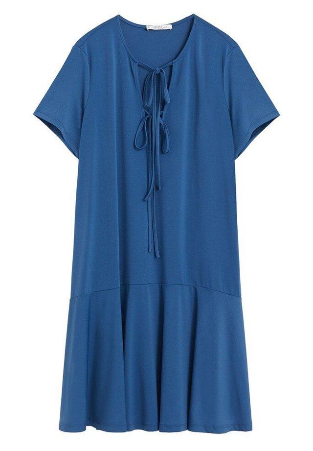 Shift dress - petrolblau