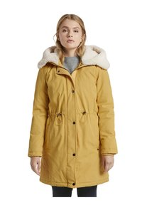 TOM TAILOR DENIM - Parka - indian spice yellow - 6