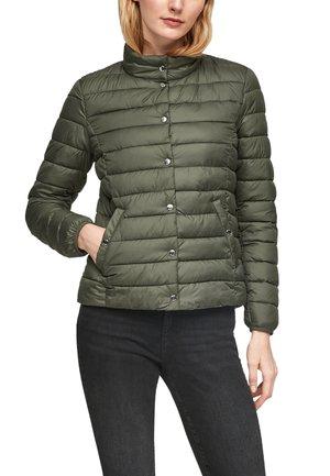 Down jacket - grün