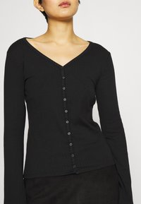 GAP - CARDI - Cardigan - true black - 5