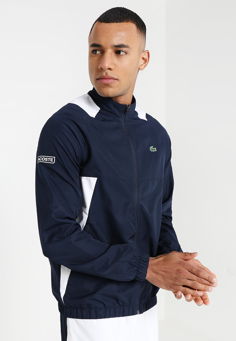 Lacoste Sport - TRACKSUIT - Tracksuit - navy blue/white white