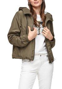 Q/S designed by - Summer jacket - olive - 6