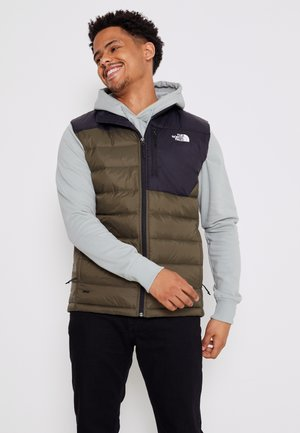 ACONCAGUA VEST - Kamizelka - black / new taupe green