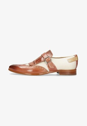 CLINT EARTHLY  - Smart slip-ons - brown