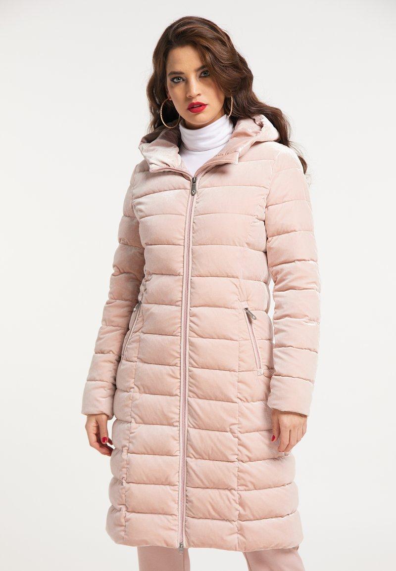 faina - Winter coat - hellrosa