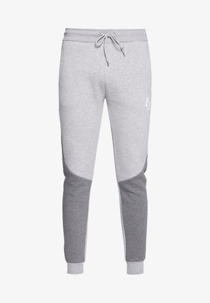 TWO TONE JOGGER - Tracksuit bottoms - grey
