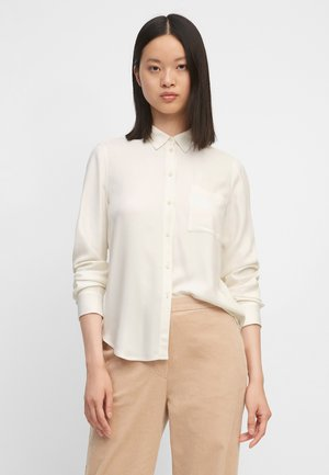 Button-down blouse - white sand