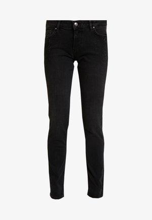 LANG - Slim fit jeans - grey/black