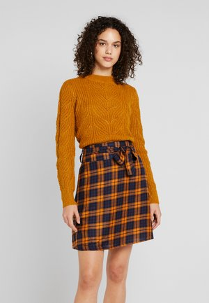 OBJNOVA STELLA - Jumper - buckthorn brown/melange