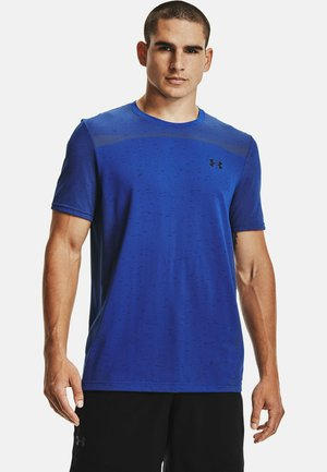 SEAMLESS SS - Print T-shirt - royal
