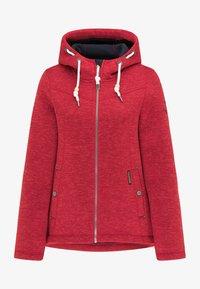 Schmuddelwedda - Fleece jacket - rot melange - 4