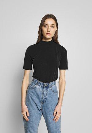 TAMERA MOD - Jednoduché triko - black