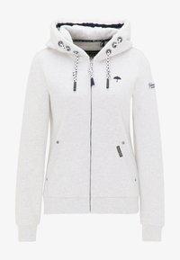 Schmuddelwedda - Zip-up hoodie - wollweiss melange - 4