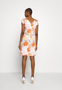 More & More - DRESS SHORT - Cocktail dress / Party dress - melon multicolor - 3