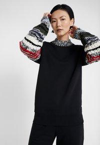 Sonia Rykiel - Sweatshirt - noir multico - 0