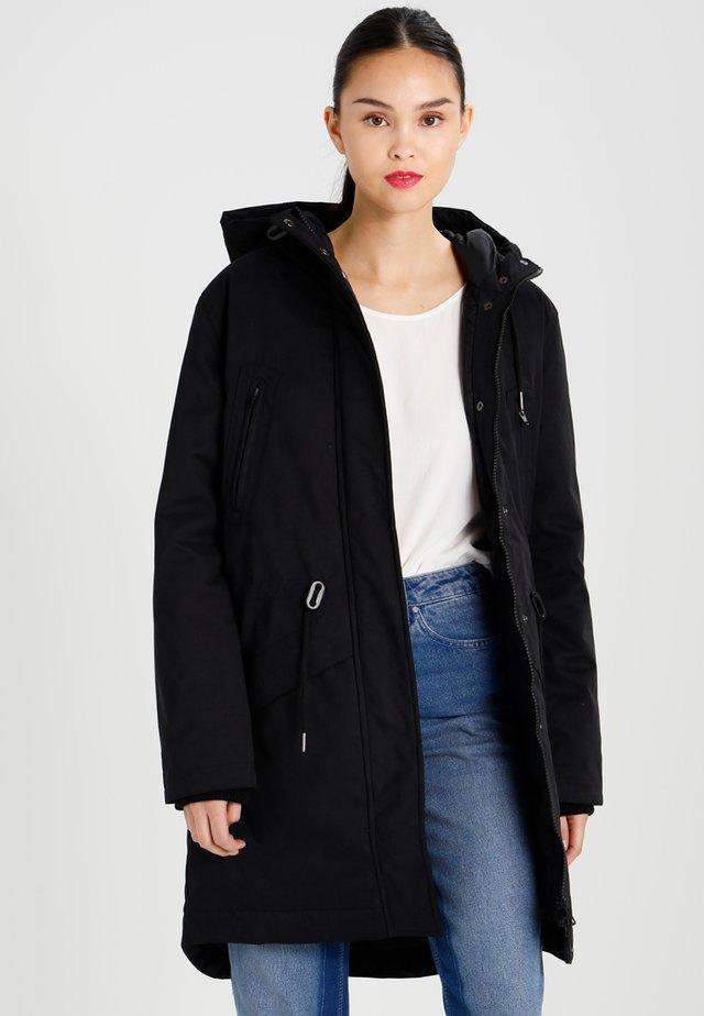 LUCCA - Down coat - black