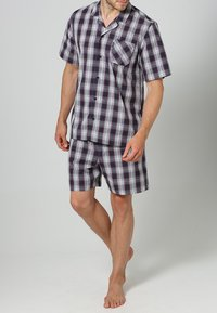 Jockey - PYJAMA 1/2 WOVEN - Pyjama set - red/white - 1