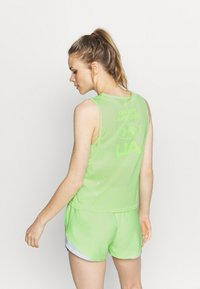 Under Armour - MUSCLE TANK - Sports shirt - summer lime - 2