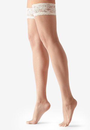 Over-the-knee socks - sand