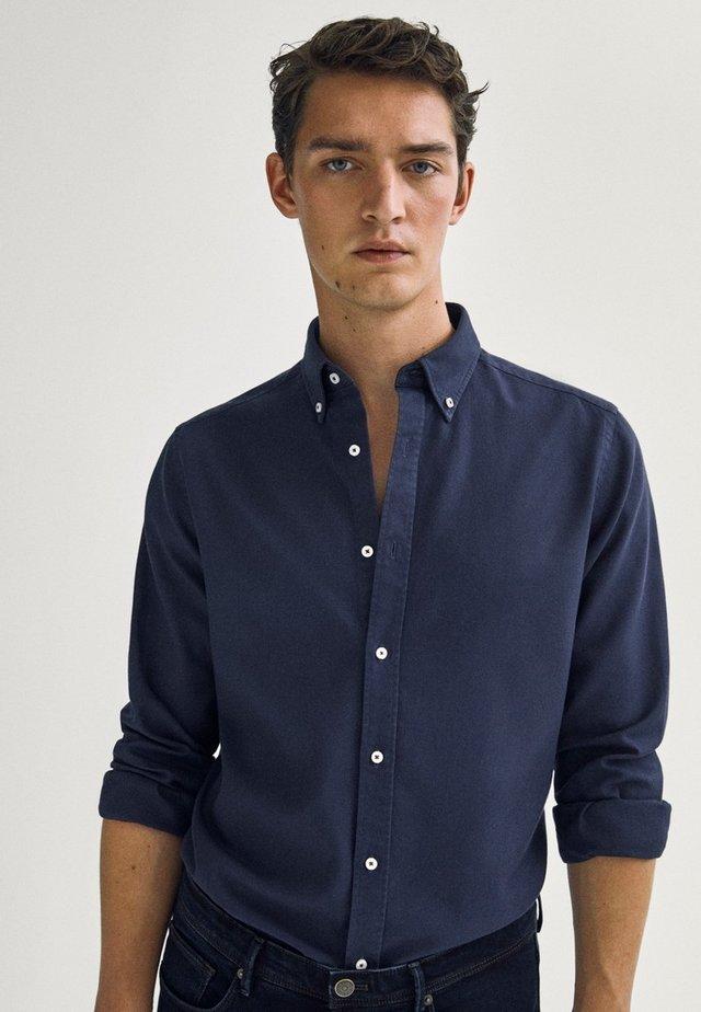 Skjorta - blue-black denim