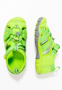 Keen - SEACAMP II CNX - Chodecké sandály - vibrant green - 0