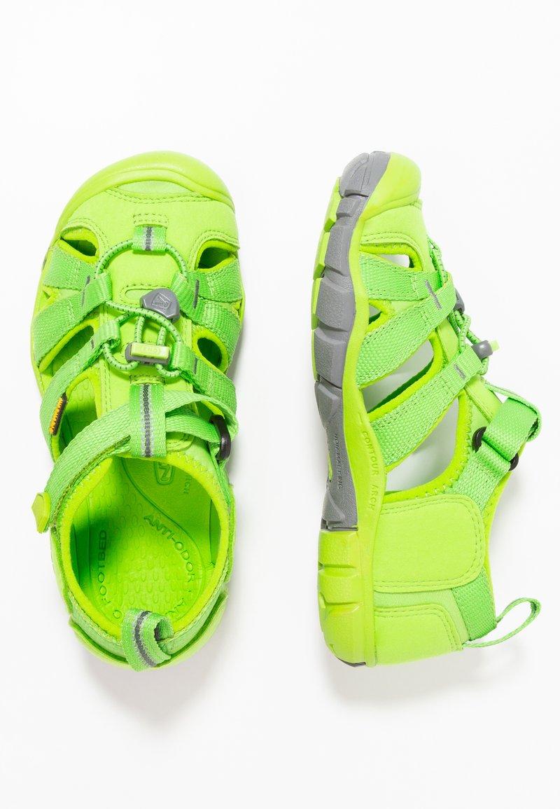 Keen - SEACAMP II CNX - Chodecké sandály - vibrant green