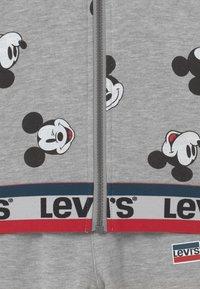 Levi's® - MICKEY MOUSE ZIP UP SET UNISEX - Tracksuit - grey - 3
