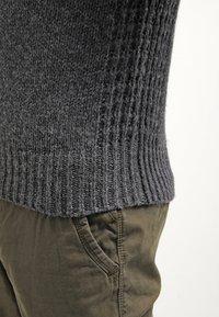 Pier One - Mikina skapucí - dark grey melange - 6