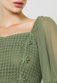 Lace & Beads - ELSIE - Blůza - khaki - 5