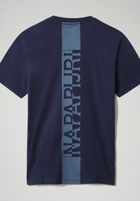 Napapijri - S SURF - Print T-shirt - medieval blue - 4