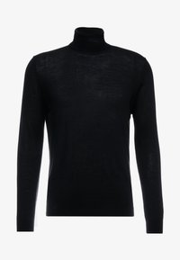 FLEMMING TURTLE NECK - Svetr - black